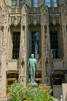 Front entrance of Tribune Tower