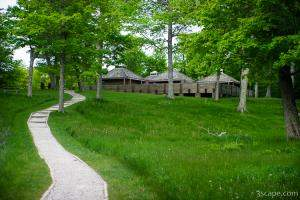 One of the visitor centers in Pictured Rocks National Lakeshore