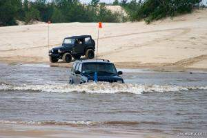 Jeeps can go anywhere!