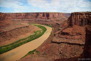 The Green River is actually pretty brown