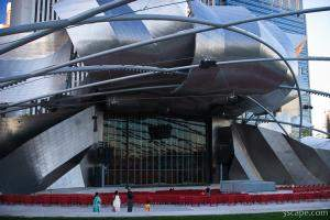 The Jay Pritzker Pavillion