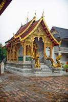 One of many mini temples