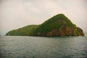 One of many small islands in the Koh Samui archipelago
