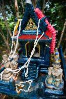 These tiny shrines were all over Thailand