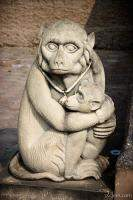 Monkey statue, Phra Kan Shrine