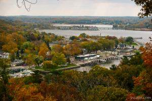 View of Lake Kalamazoo from Mount Baldhead