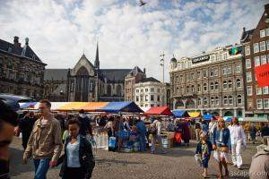 Book street market at Dam Square