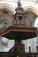 Pedestal at New Church Inside the New Church (Nieuwe Kerk)