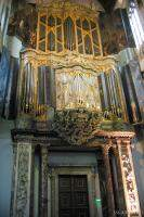 Famous pipe organ at New Church Inside the New Church (Nieuwe Ke