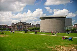 Museumplein and the Van Gogh Museum annex