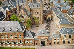 Dutch Parliament buildings (Het Binnenhof) in The Hague