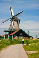 Bicycle riding and windmills