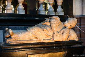 Tomb of a bishop