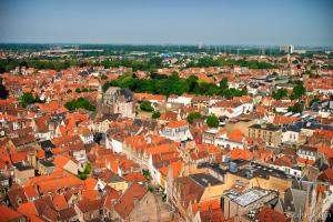 View of Brugge from the belfry