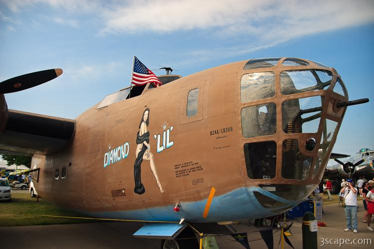 B-24 Liberator nose art
