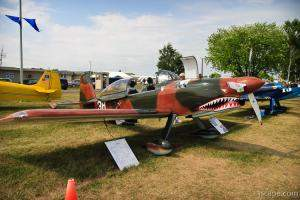 RV-8 with Flying Tiger paint scheme