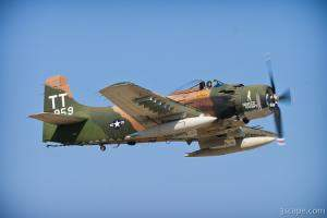 AD-4 Skyraider called 'Naked Fanny'