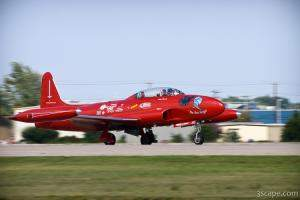 Lockheed T-33 - The Red Knight