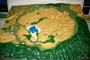 Model of Ngorongoro Crater