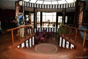 Inside the Ngorongoro Sopa Lodge