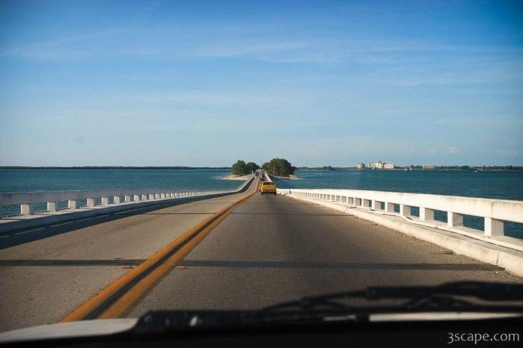 The road to Sanibel