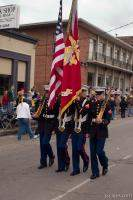US Marine Corps color guard