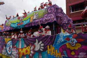 Circus Clowns Float (Krewe of Iris)