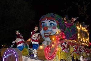 Through the Eyes of a Child Float (Krewe of Bacchus)