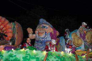Bacchatality Float (Krewe of Bacchus)