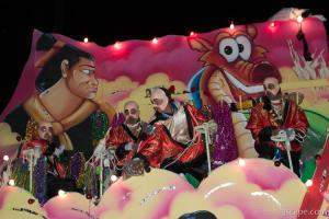 Mulan Float (Krewe of Bacchus)