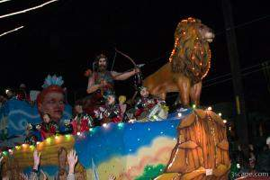 Chronicles of Narnia Float (Krewe of Bacchus)