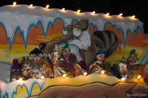 Ice Age Float (Krewe of Bacchus)