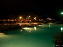 Night time at the Fiesta Resort