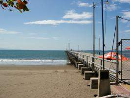 The main pier in Puntarenas