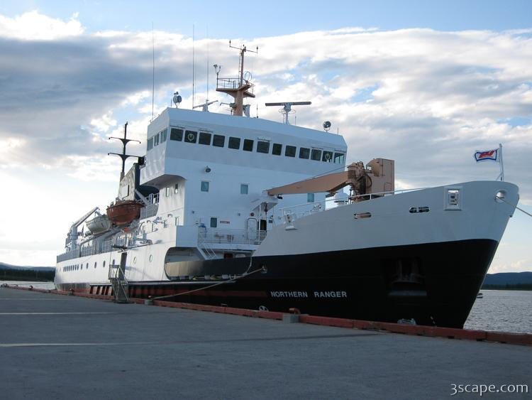 The MV Northern Ranger - passanger and freight ferry