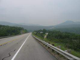 Highway 138 near Charlevoix, Quebec