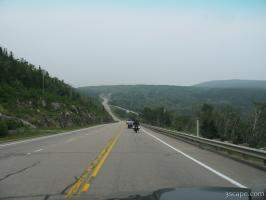Highway 138 in Quebec
