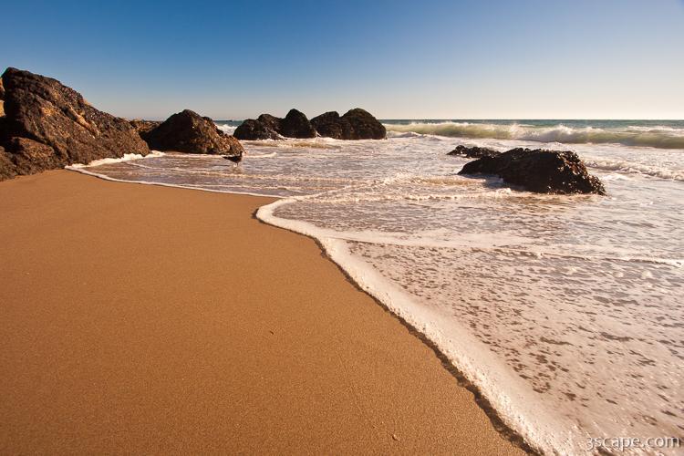 Waves At Zuma Beach