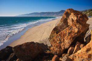 Point Dume Overlooking Zuma Beach