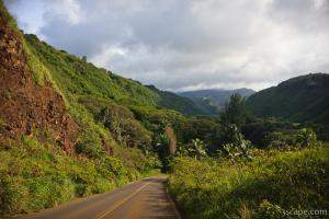 Honoapiilani Highway on northwest side of Maui