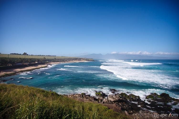 Hookipa Beach Park - a popular surf spot