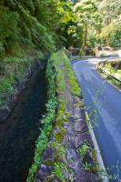 Maui water supply ditch next o Hana Highway