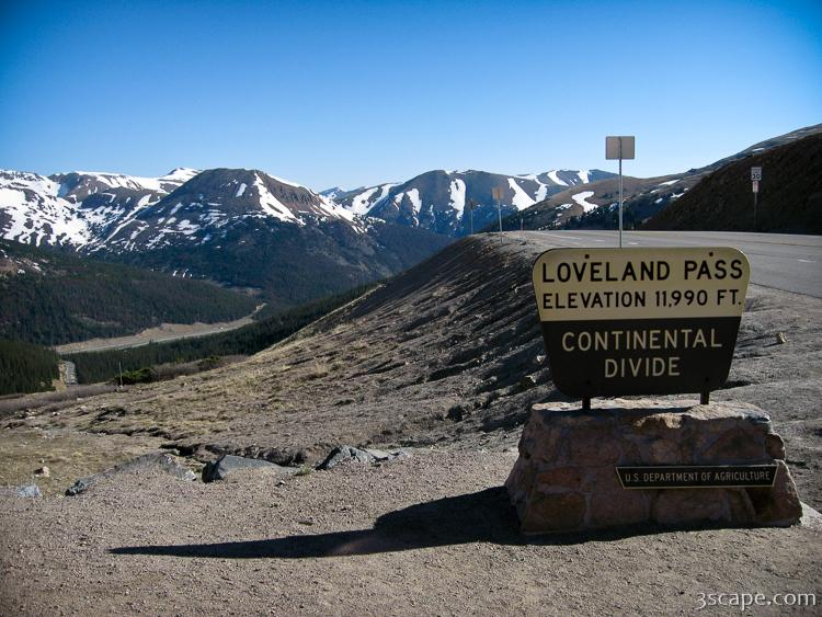 Loveland Pass Colorado Photograph Fine Art Prints By