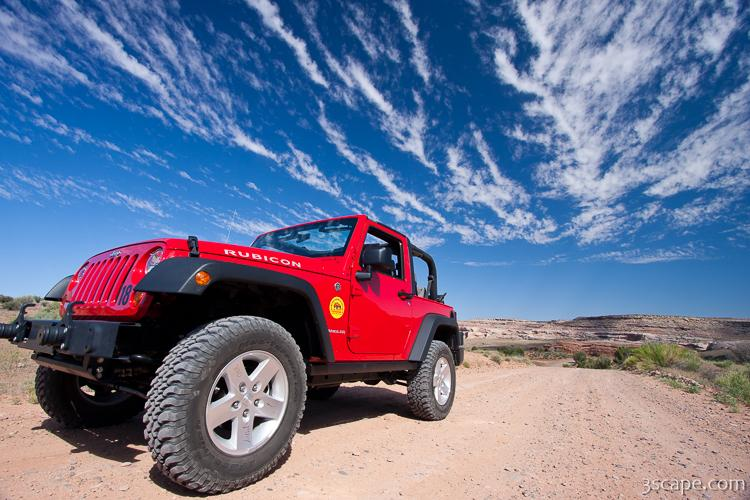 Modified Jeep Rubicon Photograph Landscape Amp Travel