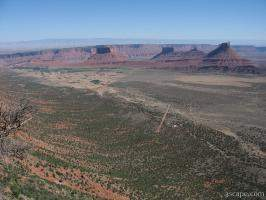 View of Castle Valley from Porcupine Rim