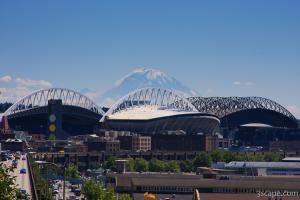Safeco Field and Qwest Field, Seattle's stadiums