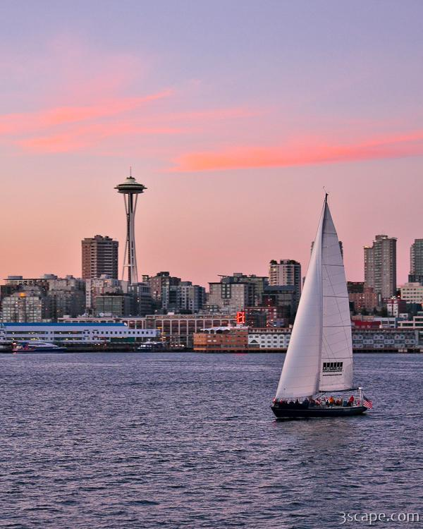 Sailing Puget Sound Photograph Landscape Amp Travel