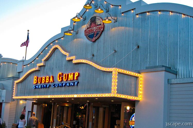 Bubba Gump Shrimp Company at Santa Monica Pier