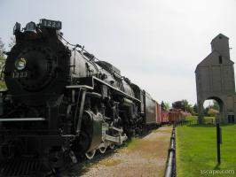 Pere Marquette 1223 train locomotive