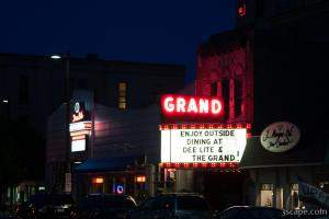 The Grand Theater turned restaurant